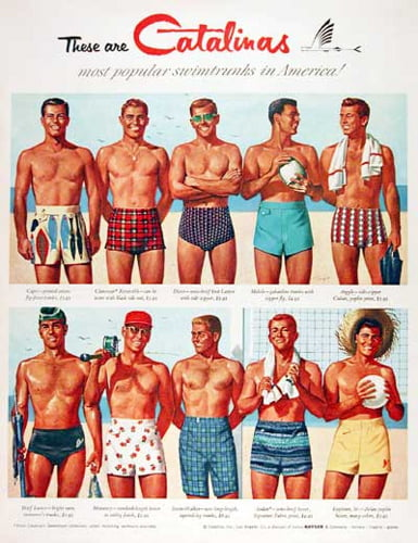 men´s swimwear retro