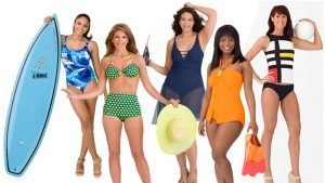Picking swimming suits