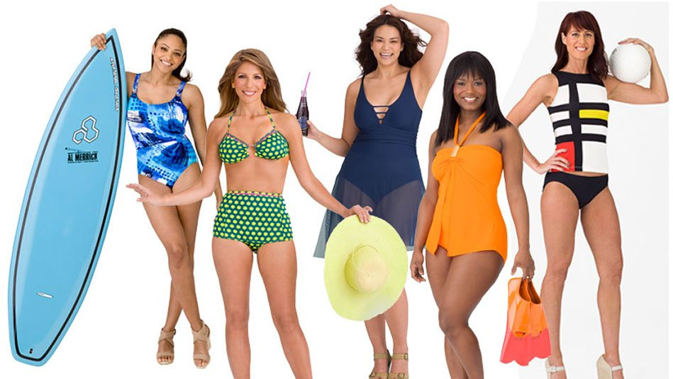 a095c4f84b1fb How to choose a bathing suit for your body type - Swim dress
