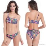 Small bust swimming suit