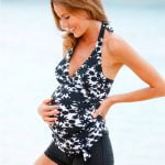 pregnancy swimsuit