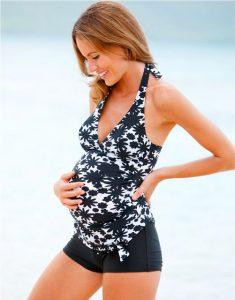 pregnancy swimsuit